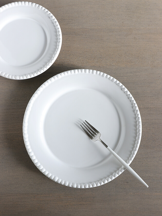 PotteryJoディナープレートDARIAホワイト