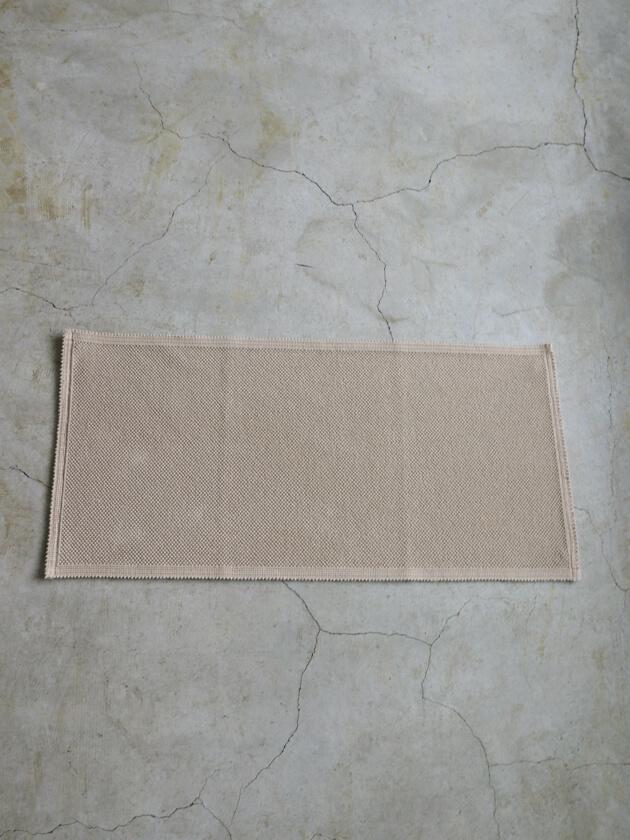 VIVARAISEフロアマットETIAベージュ54x110cm