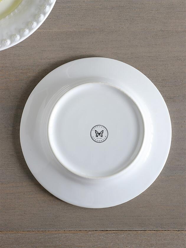 PotteryJoデザートプレートDARIAホワイト22cm