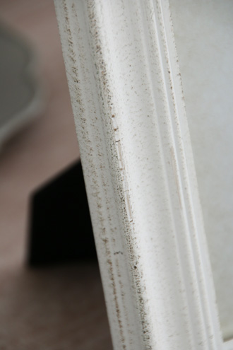 SGDフォトフレームリボンストーンホワイト 16x21