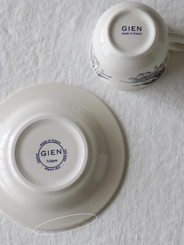 Gienカップ&ソーサーTulipes