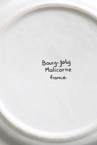 Bourg-Joly MalicorneプレートFeston