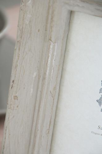 SGDフォトフレームリボンハウスグレー 16x21