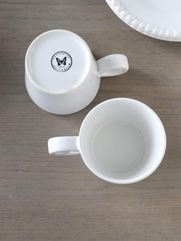 PotteryJoマグカップDARIAホワイト