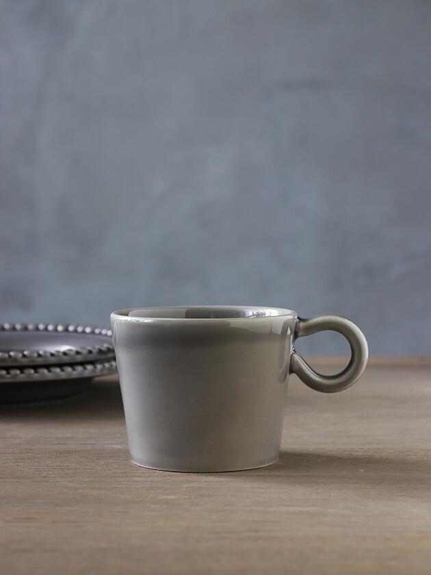 PotteryJoマグカップDARIAグレー