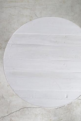 Blanc Natureラウンドテーブルライトグレー