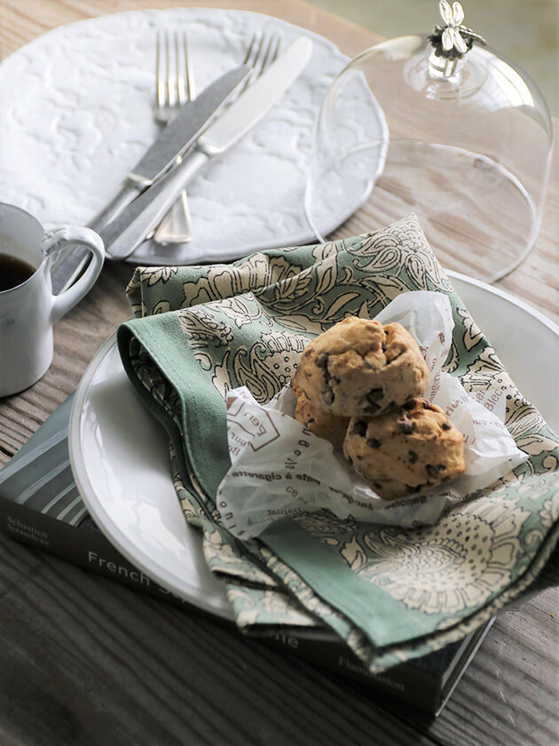 BUNGALOW DENMARKキッチンタオルShimla Ivy