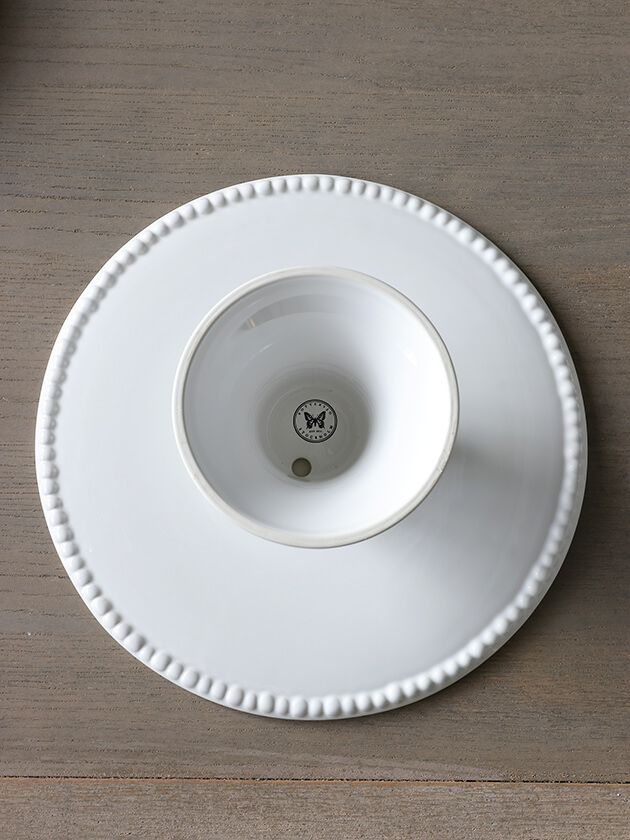 PotteryJoケーキスタンドDARIAホワイト