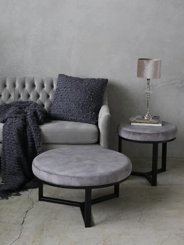 sofa domeアイアンプフトップドルフィングレーベルベット