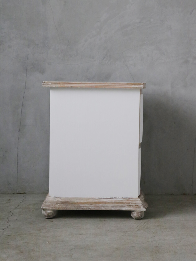 BLANC D'IVOIREサイドテーブルMARCELLEホワイト