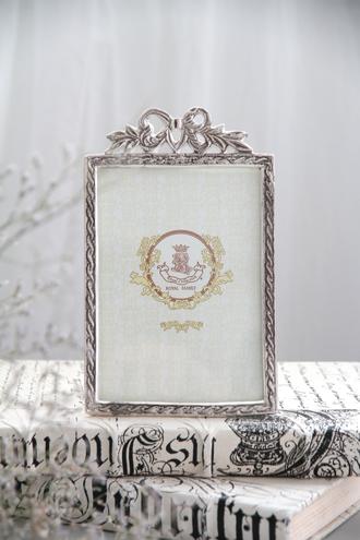 Royal FamilyシルバーリボンフォトフレームVertical