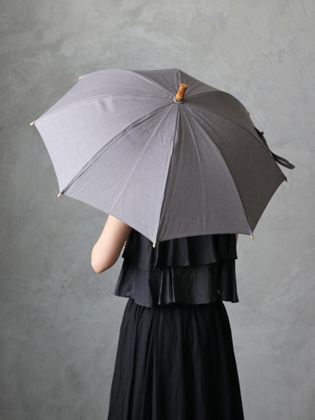 Utilite晴雨兼用長傘 グレー