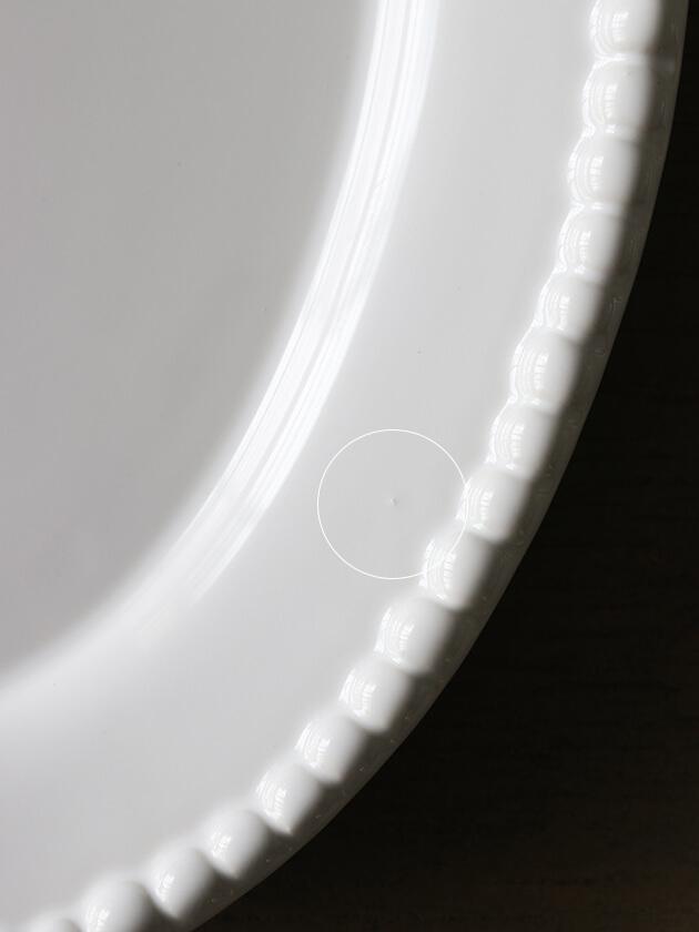 PotteryJoオーバルプレートDARIAホワイト