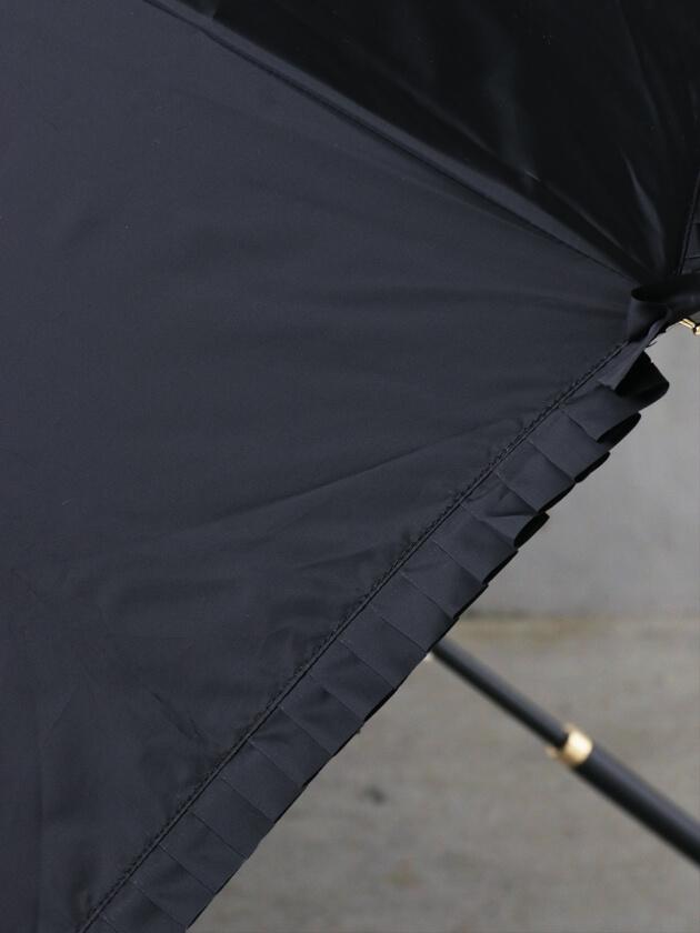 Kiwanda傘エステルシャンブレータックフリル