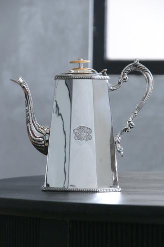 Royal FamilyシルバーコーヒーポットOctagonal