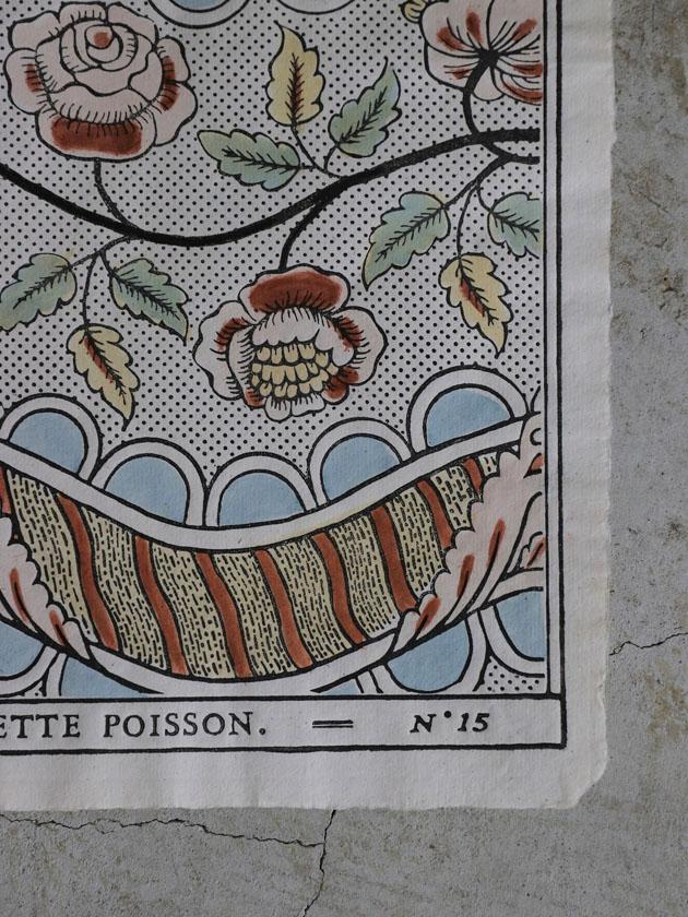 Antoinette Poissonドミノペーパー15A 5色