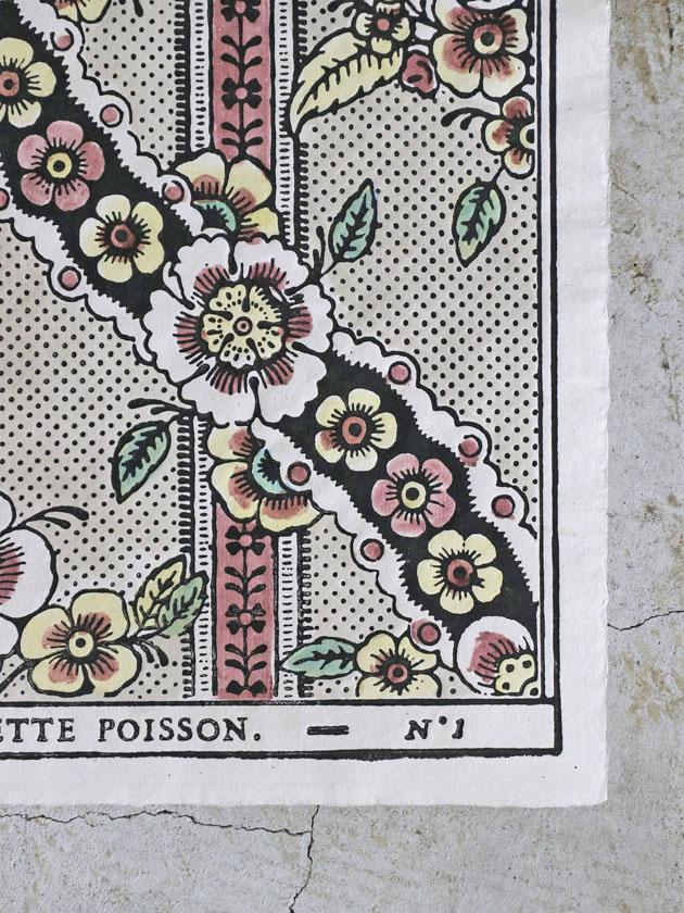 Antoinette Poissonドミノペーパー1B 4色