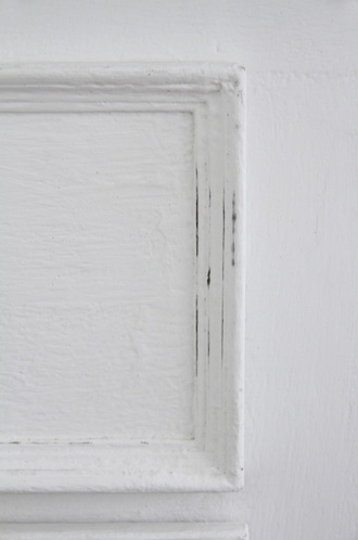 BLANC D'IVOIREサイドボードJOEホワイトTOPラフグレーfacon chene 幅180cm奥行き50cm
