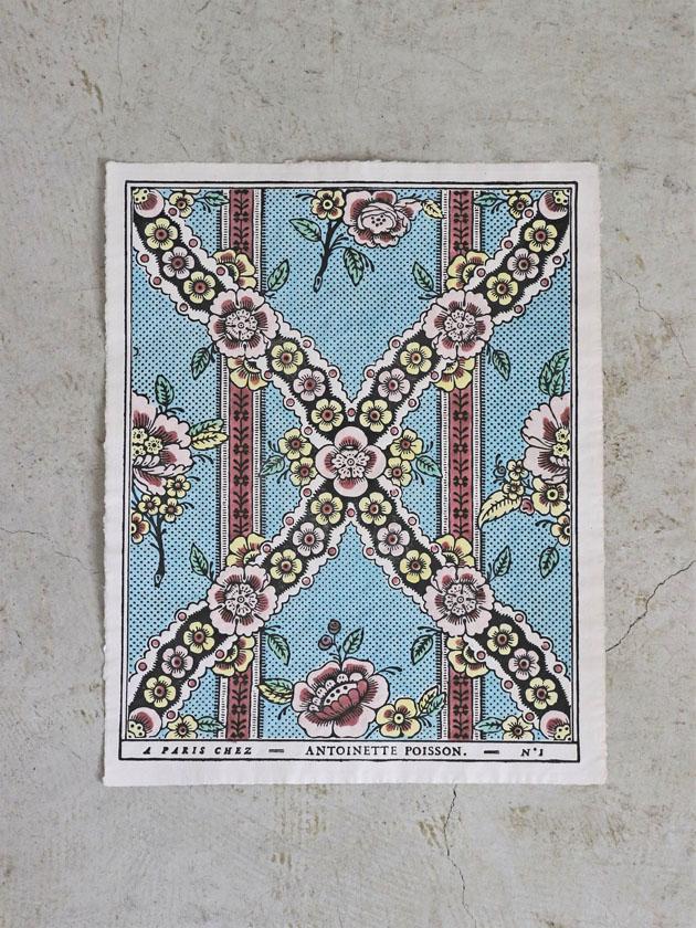 Antoinette Poissonドミノペーパー1A 5色