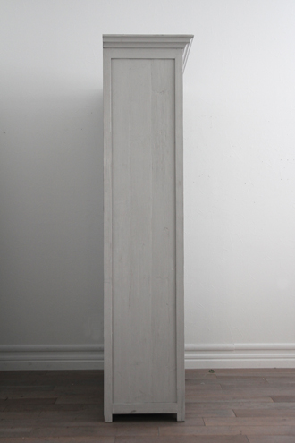 BlancNatureブックシェルフCharlotte(2ユニット)フレンチグレー
