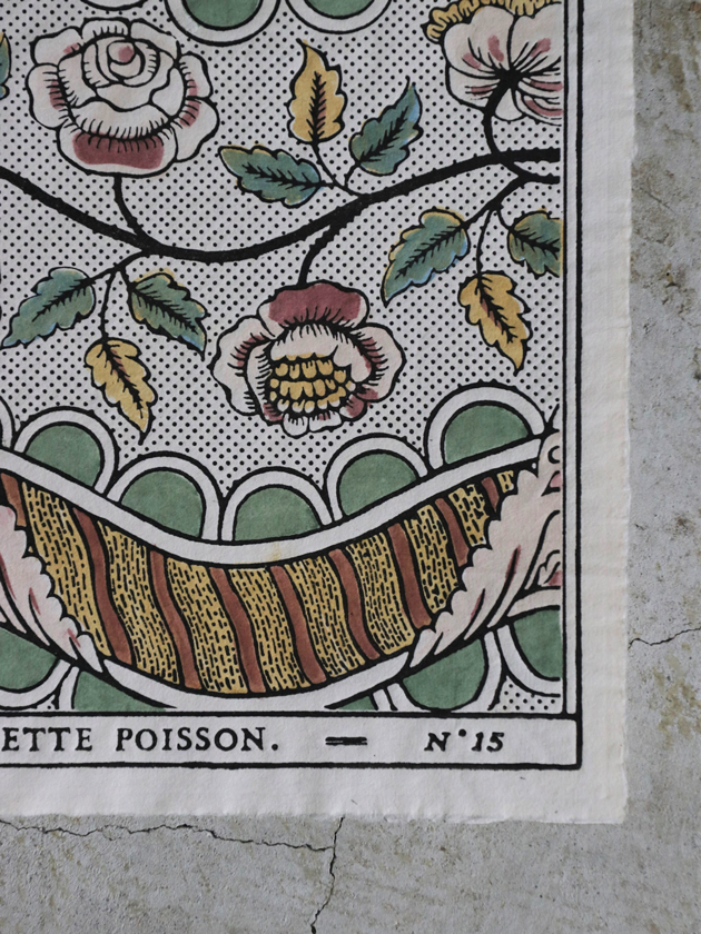 Antoinette Poissonドミノペーパー15B 5色
