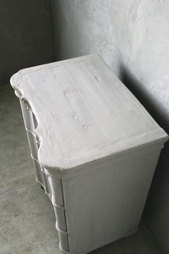 BlancNatureベッドサイドチェストPatriciaフレンチグレー