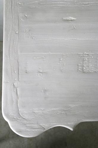 《10%OFF》BlancNatureベッドサイドチェストPatriciaフレンチグレー