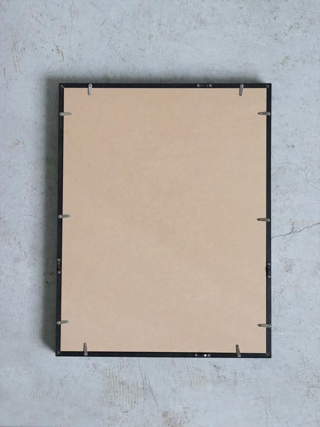 木製額縁ブラック 39.4X50.9cm
