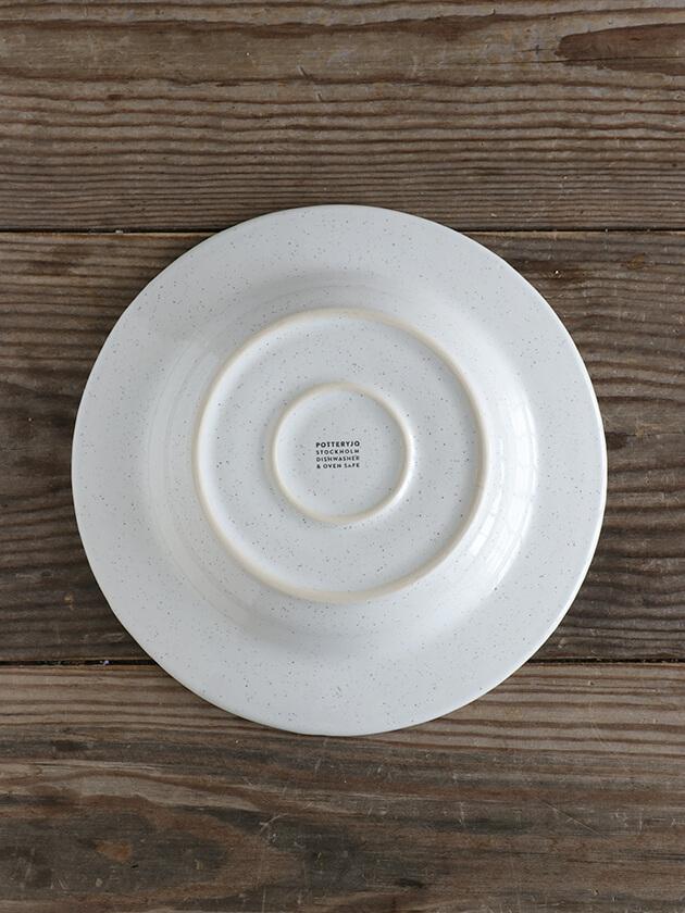 PotteryJoスープ・パスタプレートDARIAホワイト26cm Stoneware