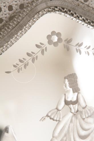 フレンチアンティークイタリアンウォールランプ2灯