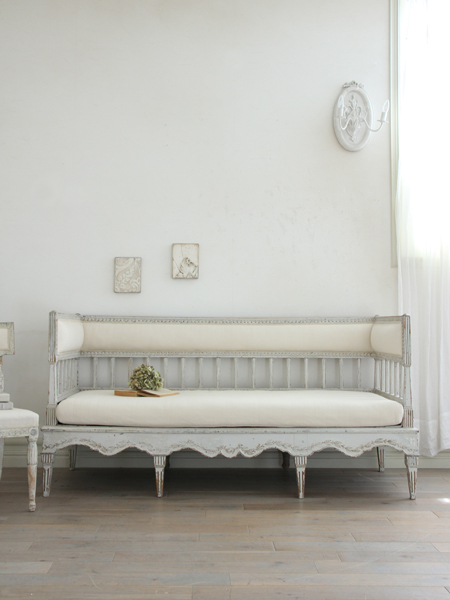 Gustavian Antique ソファ