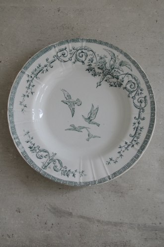 Gien Marie Antoinette平皿