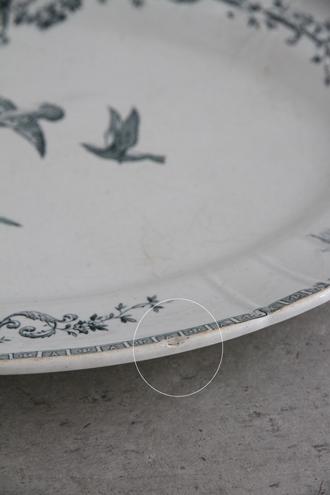 Gien Marie Antoinette オーバル皿