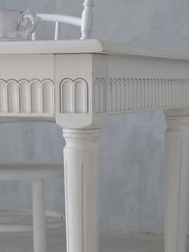 BlancNatureダイニングテーブルJosetteホワイト