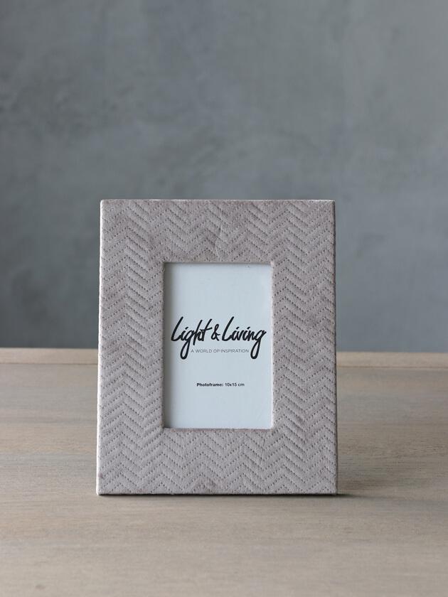 Light&LivingフォトフレームDOUTZENグレーS