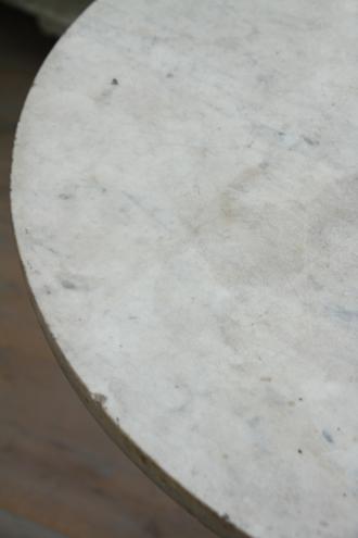 Gustavian Antique ラウンドテーブルTOPマーブル