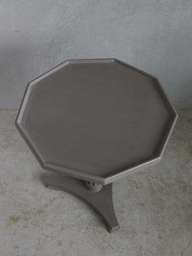 BlancNatureサイドテーブルLianeブラウングレー