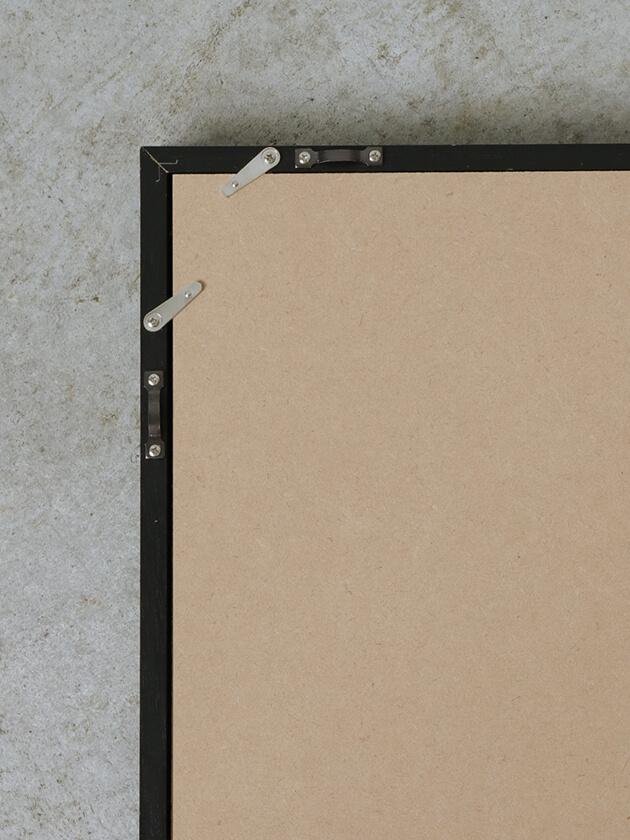 木製額縁ブラック 21.0X29.7cm