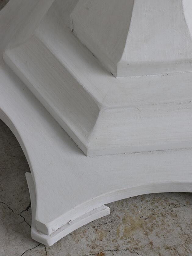 BlancNatureサイドテーブルPauleホワイト