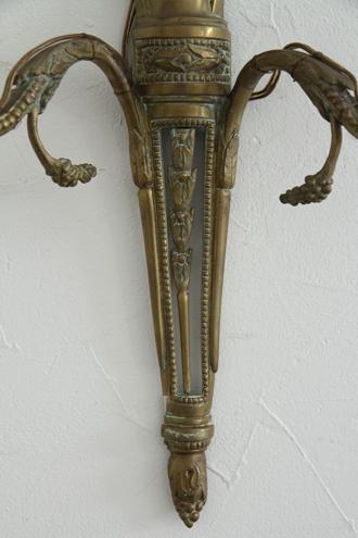 フレンチアンティーク ウォールランプLouis XVI No1