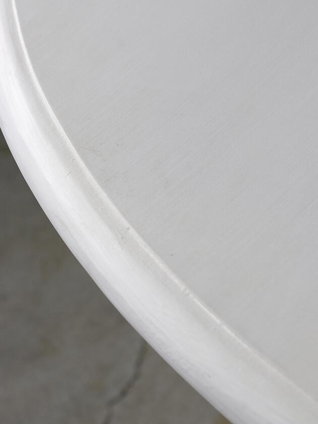 BlancNatureラウンドダイニングテーブルNinonホワイト