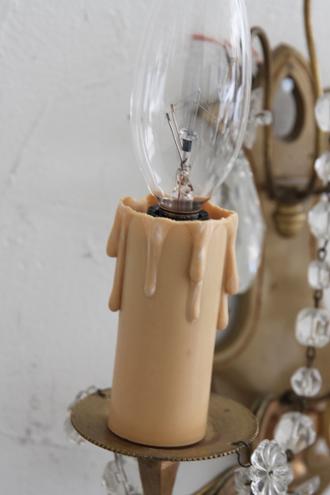 フレンチアンティークウォールランプ2灯