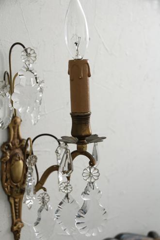 フレンチアンティークウォールランプBrocante1灯C