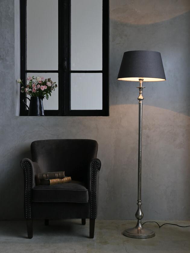 Light&LivingシェードラウンドLIVIGNOダークグレー40cm