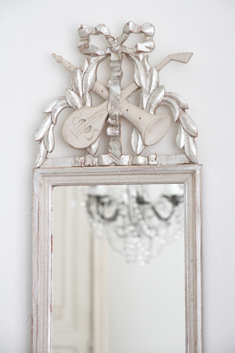 ElusioフレンチミラーETROIT Louis XVIシルバー