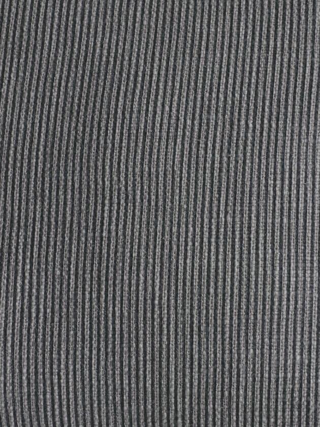CONDORコットンクッションカバー オールサイドフリンジダークグレーNo.2 50x50cm
