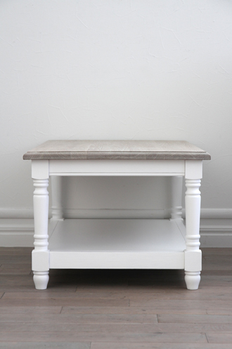SGDコーヒーテーブルホワイトTopナチュラルA100cm