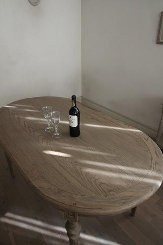 SGDダイニングテーブルオーバル160cmALLナチュラルCn