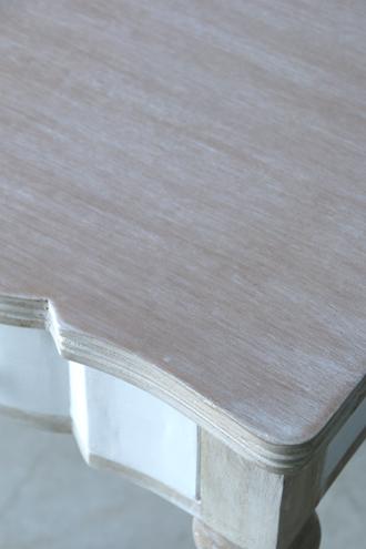 BLANC D'IVOIREサイドテーブルLINDAホワイト