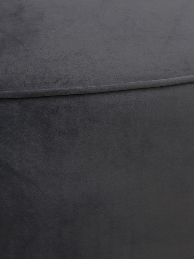 BlancNatureソファLise180cmダークグレーベルベット